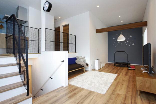 「スキップフロア」のゆとりある空間で自分好みのテイストに家を彩る