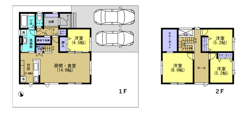 川北5-1平面図