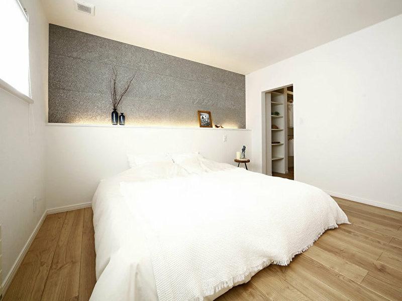 豊栄建設新発寒モデルハウスの寝室