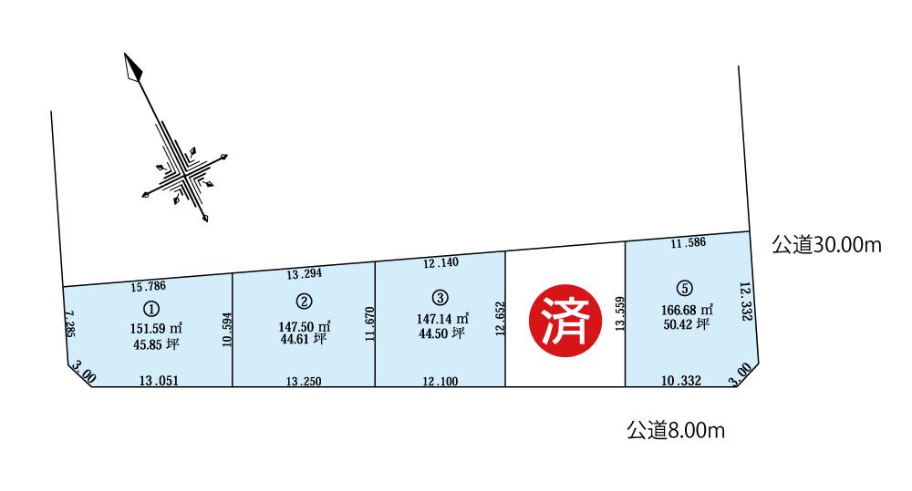南区真駒内泉町(2期)_区画図