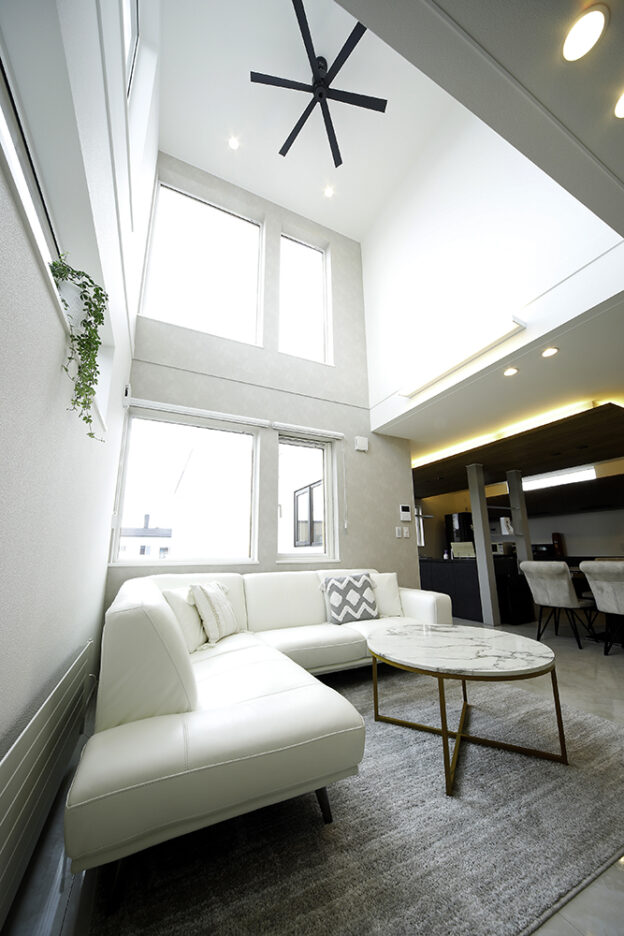 それぞれの生活スタイルを尊重した完全分離型二世帯住宅